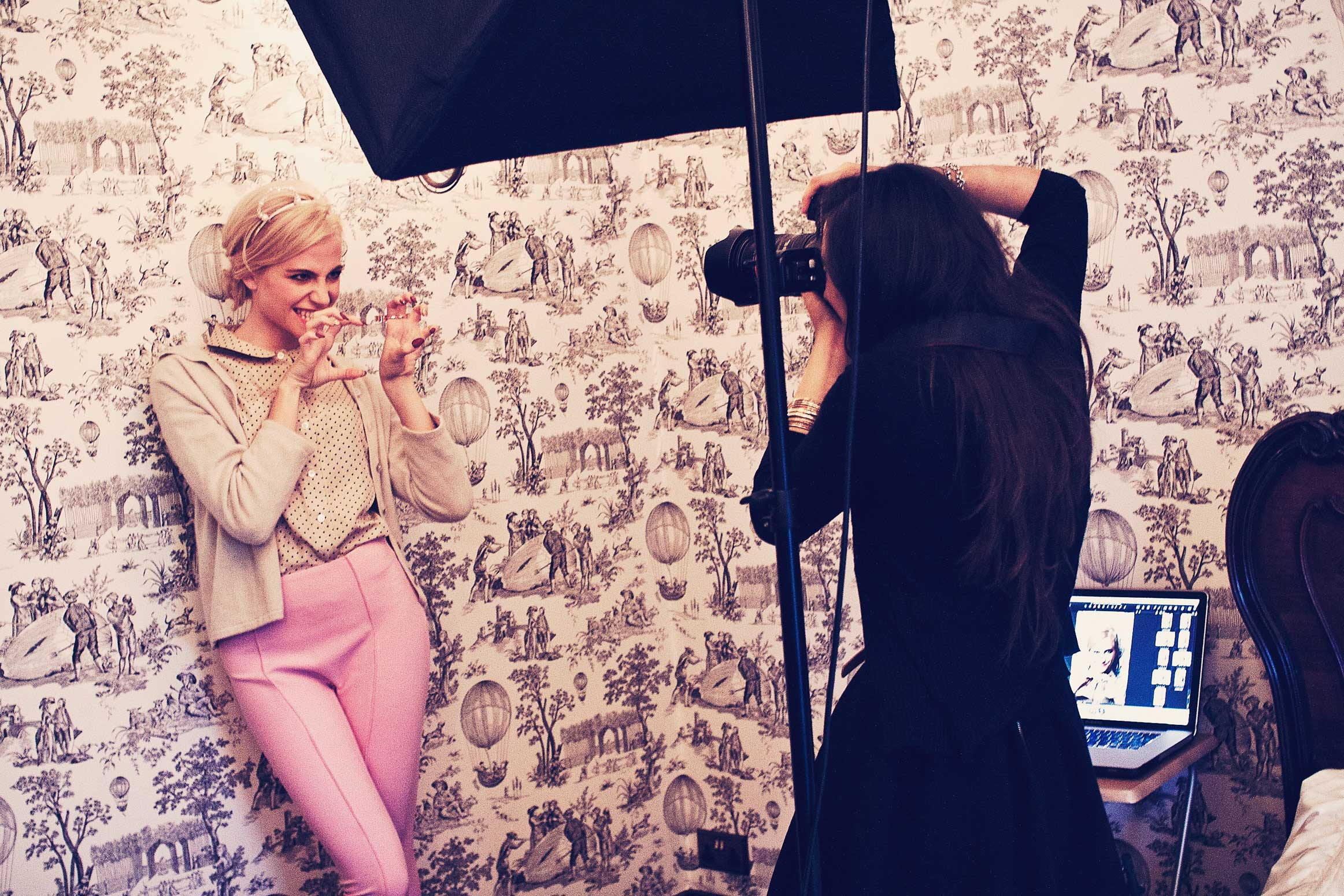 Behind The Scenes Fashion Shoot Blog
